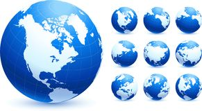 Globe Collection Stock Images