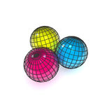 Globe Color Stock Photography
