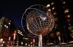 Globe at Columbus Circle Royalty Free Stock Photo
