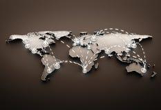Globe Communications Royalty Free Stock Photo
