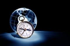 Globe and Compass Stock Photos
