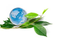 The globe concept eco Stock Photo
