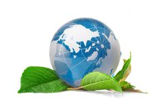 The globe concept eco Stock Images