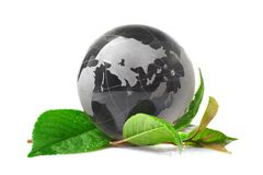 The globe concept eco Stock Photos