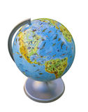 Globe, a copy of the land Royalty Free Stock Photography