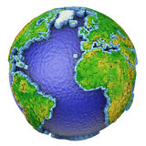 Globe of cubes Royalty Free Stock Images