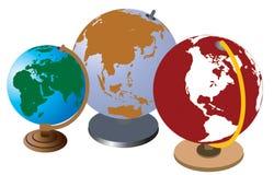 Globe d'école Image libre de droits