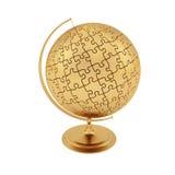Globe d'or Image libre de droits