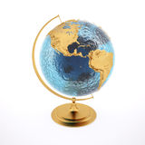 Globe d'or Images stock