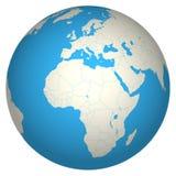 Globe 3d Photographie stock