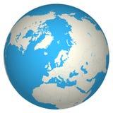Globe 3d Images libres de droits