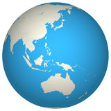 Globe 3d illustration stock