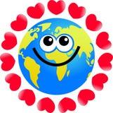 Globe d'amour illustration de vecteur