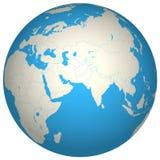 Globe 3D vector illustration