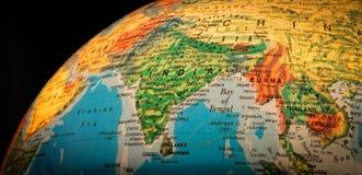 Globe d'Asie du Sud-Est photographie stock libre de droits