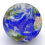 Globe. 3D Globe. Elements of this image furnished by NASA Stock Photo