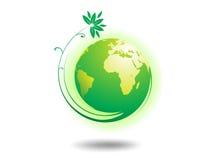 Globe d'environnement Image libre de droits