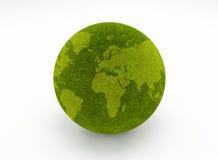 Globe d'herbe verte Photos libres de droits