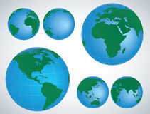Globe 3D Vector Illustration Stock Photo
