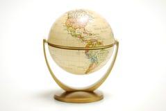 Globe de bureau Photographie stock libre de droits