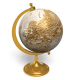 Globe de cru illustration libre de droits