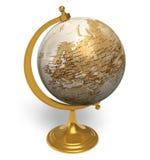 Globe de cru Photo libre de droits