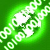 Globe de Digitals illustration libre de droits