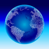 Globe de Digitals. Photographie stock libre de droits