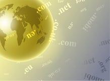 Globe de domaine illustration libre de droits