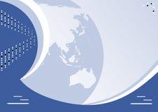 globe de fond Photos libres de droits