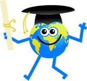 Globe de graduation illustration stock