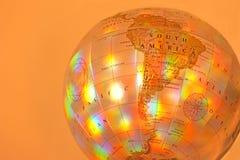 Globe de l'Amérique du Sud Photo libre de droits