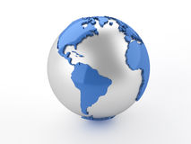 Globe de la terre Photo stock