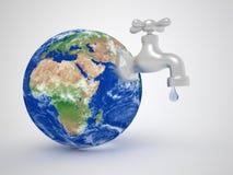 Globe de la terre illustration de vecteur