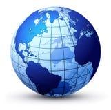 Globe de la terre illustration stock