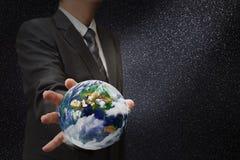 Globe de la terre Photographie stock