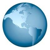 Globe de la terre Images stock