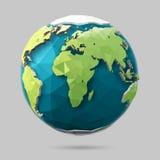 Globe de la terre de vecteur Photos libres de droits