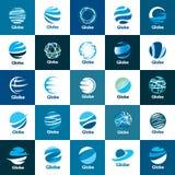 Globe de logo de vecteur illustration de vecteur