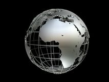 Globe de Metall Images stock