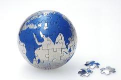 Globe de mosaïque Photos libres de droits