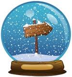 Globe de neige illustration de vecteur