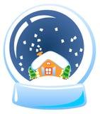 Globe de neige Photographie stock