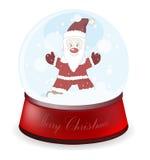 Globe de Noël Photographie stock libre de droits