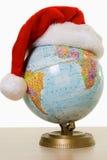 Globe de Noël Photos libres de droits