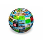 Globe de photo photographie stock libre de droits