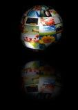 Globe de photo Image libre de droits