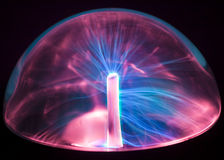 Globe de plasma Photographie stock