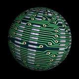 Globe de pointe Images libres de droits