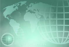 Globe de réseau Photographie stock libre de droits